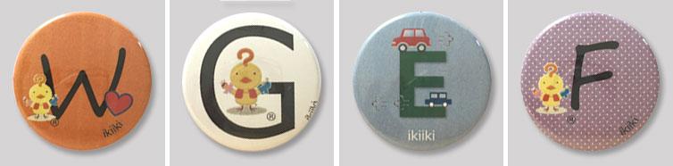 就労継続支援B型製作オリジナル缶バッジ商品画像